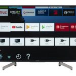 Sony KD-43XG8096 Android TV da 43 pollici, Smart TV LED 4K HDR Ultra HD con Voice