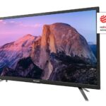 "Sharp AQUOS TV 24"" HD Slim SAT 2xHDMI USB uscite cuffie scart e audio digitale"