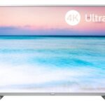 Philips Serie 6500 43PUS6554/12 TV Colore Argento 4K Ultra HD Smart TV Wi-Fi Argento